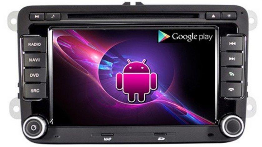 Navigatie Rns 510 ANDROID DEDICATA VOLKSWAGEN SKODA SEAT WITSON W2-I004 PLATFORMA S150 PROCESOR DUAL CORE A8 1GHZ 512 DDR 2 INTERNET 3G WIFI DVD GPS TV DVR CARKIT PRELUARE AGENDA TELEFONICA MODEL PREMIUM!