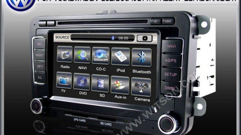 Navigatie Rns 510 Witson Dedicata Seat Toledo 1699 LEI Dvd Gps Car Kit Usb Tv Afisaj Senzori Ops
