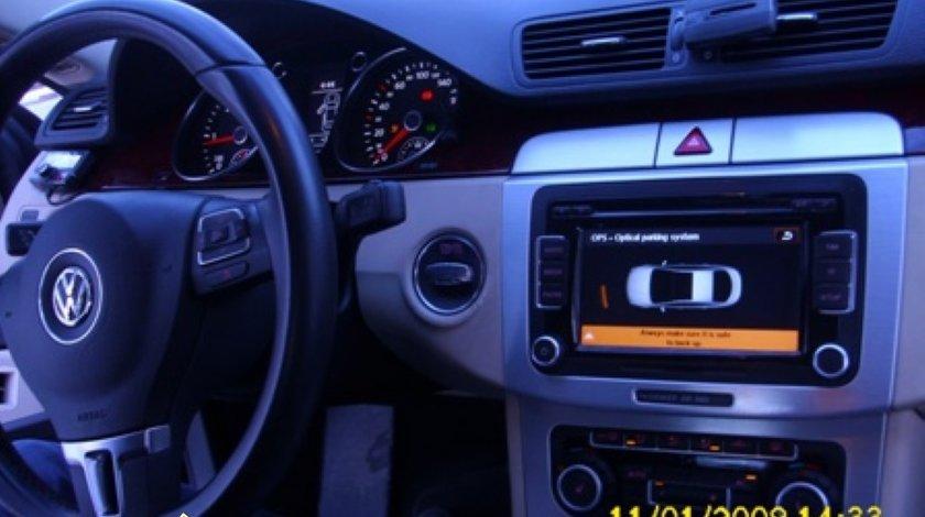 Navigatie RNS 510 Witson Dedicata Vw PASSAT CC Afisaj CLIMATRONIC Senzori Oem Dvd Gps Car Kit Usb Divx