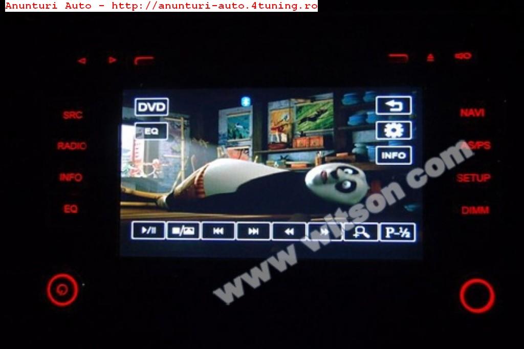 NAVIGATIE RNS 510 WITSON DEDICATA VW POLO 2010 DVD GPS CAR KIT USB TV AFISAJ SENZORI OPS
