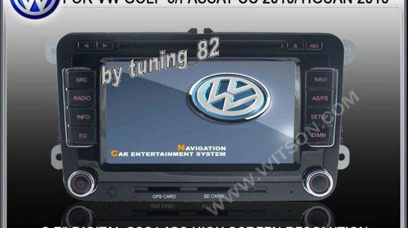 Navigatie Rns 510 Witson Dedicata Vw TIGUAN Afisaj Climatronic Senzori Oem Dvd Gps Car Kit Usb Divx