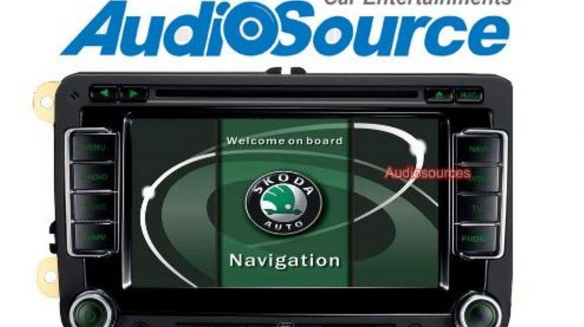 Navigatie Rns 510 Witson W2 D781s Dedicata Skoda ROOMSTER Internet 3g Gps Dvd Carkit Cu Preluare Agenda Afisaj Climatronic Model 2013