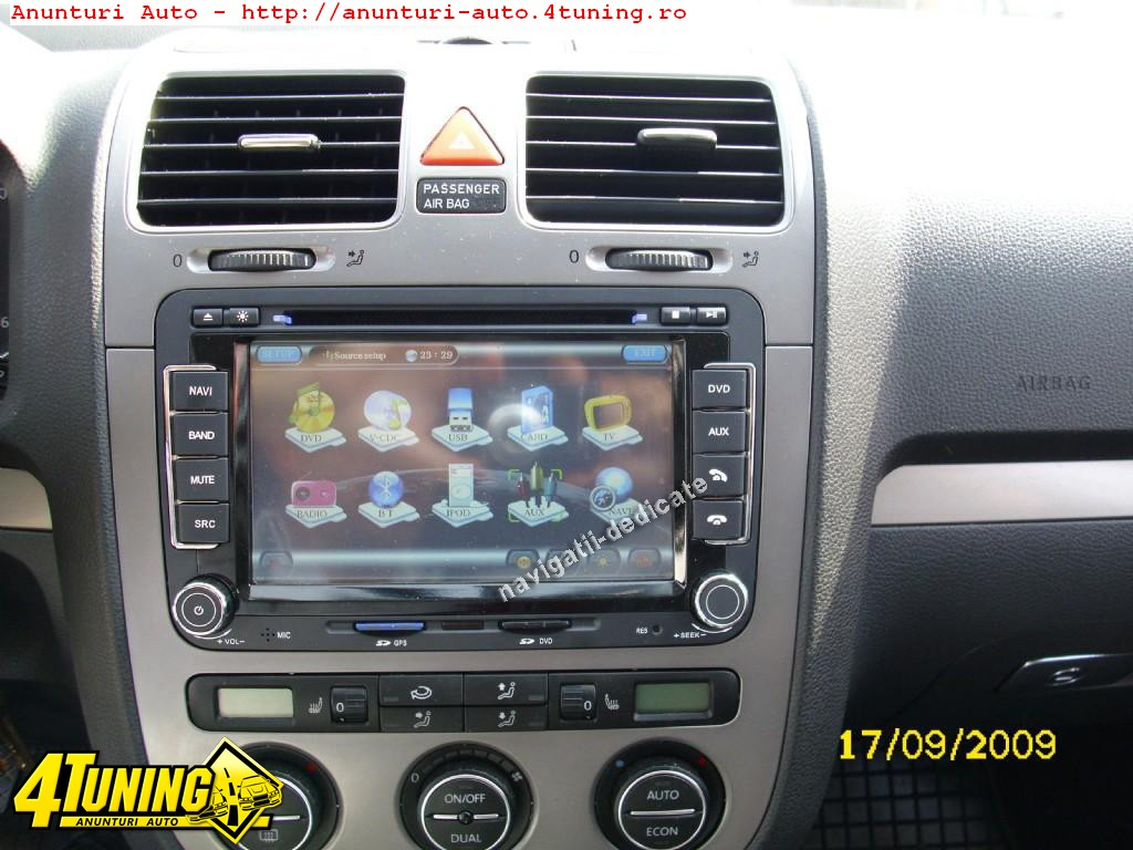 navigatie rns510 dedicata vw golf 5 golf 6 dvd gps pip hd. Black Bedroom Furniture Sets. Home Design Ideas