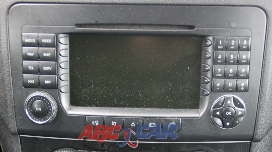 Navigatie/sistem multimedia Mercedes ML-Class W164 2006-2009