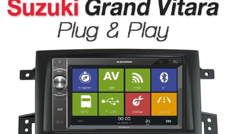NAVIGATIE SUZUKI GRAND VITARA MACROM M-DL5000 2DIN USB SD PLAYER GPS CARKIT BLUETOOTH