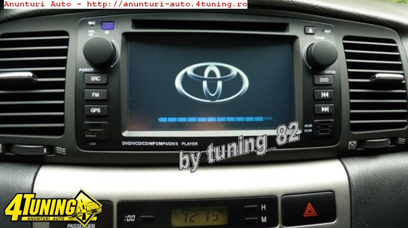 Navigatie TOYOTA COROLLA E120 2002-2006 Dvd Gps Car Kit Usb Bluetooth