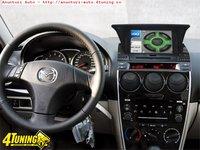 Navigatie TTi 7006 Dedicata Mazda 6 2002 2008 Dvd Gps Bluetooth Ipod Usb Tv