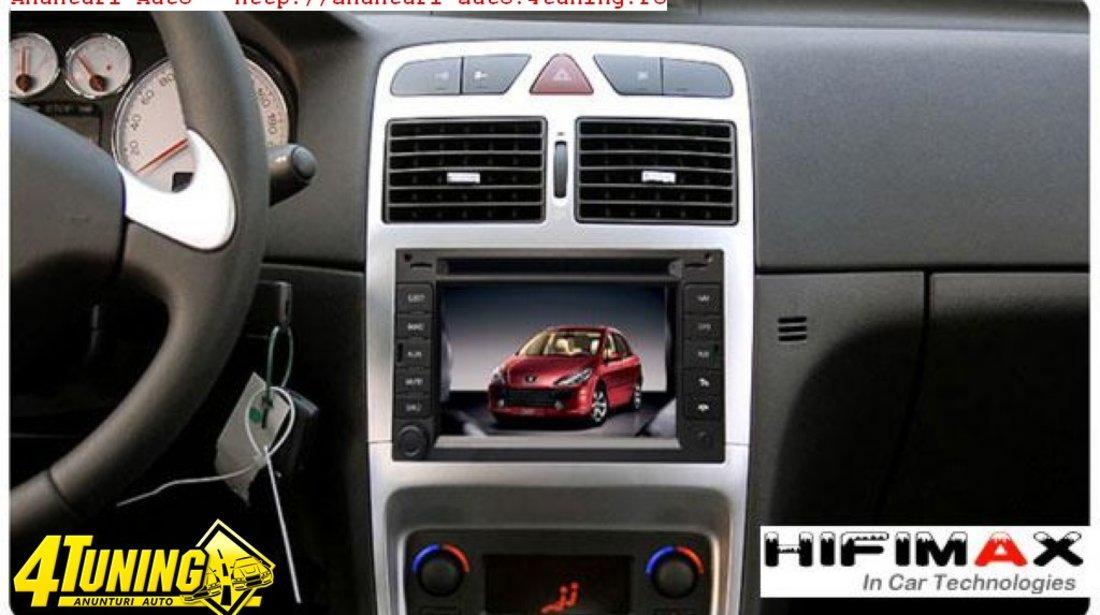 Navigatie Tti 8917 Dedicata PEUGEOT 307 Internet 3g Dvd Gps Tv Cat Kit Ipod Comenzi Volan Model 2012