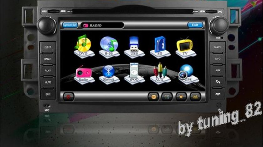 Navigatie Tti 8920 Dedicata Chevrolet EPICA Dvd Gps Tv Car Kit Picture In Picture