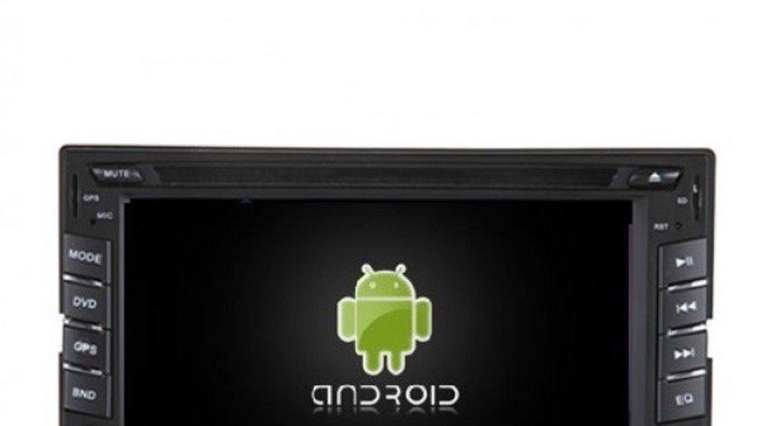 NAVIGATIE UNIVERSALA 2DIN CU ANDROID EDT-G802 PROCESOR QUAD CORE 1,6 GHZ 16 GB INTERNET 3G WIFI WAZE