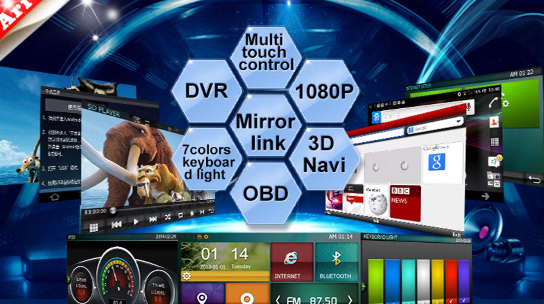 NAVIGATIE UNIVERSALA 2DIN WITSON W2-D8902G LEDURI SI LOGO SELECTABILE ECRAN CAPACITIV DVD GPS TV