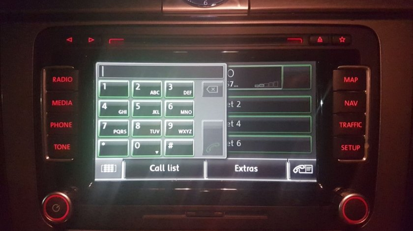 Navigatie VW Golf 6 Plus 1t0035680f