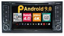 NAVIGATIE VW MULTIVAN Touareg Android 9.0 Waze Ecr...