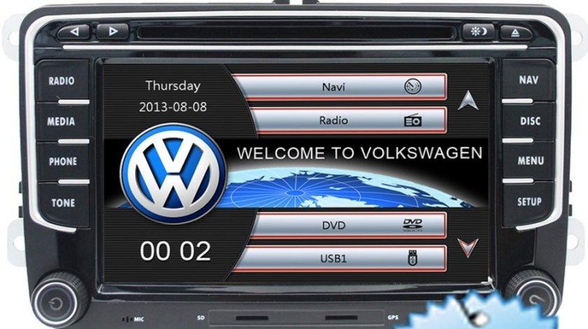 Navigatie VW Passat B6 B7 CC Golf 5 6 Jetta Tiguan Touran Eos Amarok Navd-723v V5 Camera cadou