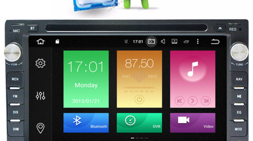 NAVIGATIE VW TRANSPORTER Android 6.0 Octa Core 2 GB RAM NAVD-P9245