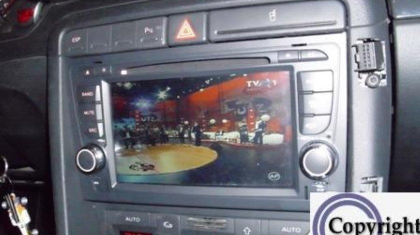 Navigatie Witson Dedicata Audi A4 Internet 3g Wifi Dvd Gps Carkit Tv Comenzi Pe Volan Model 2013
