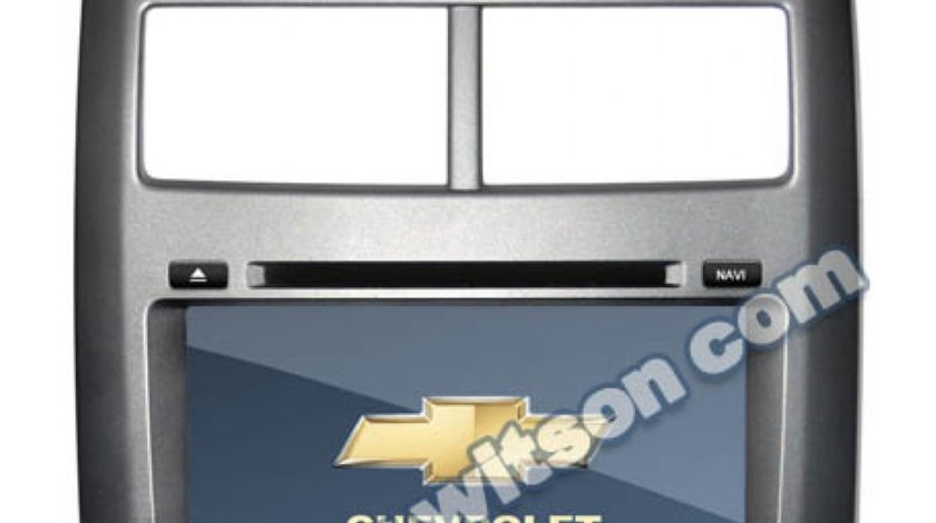 Navigatie Witson Dedicata Chevrolet AVEO 2012 Internet 3g Gps Dvd Carkit Comenzi Pe Volan