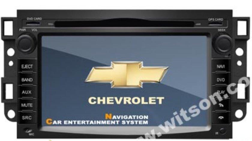 Navigatie Witson Dedicata Chevrolet Epica Aveo Captiva Kalos Lacetti Spark Internet 3g Wifi Gps Dvd Tv Carkit Model 2012