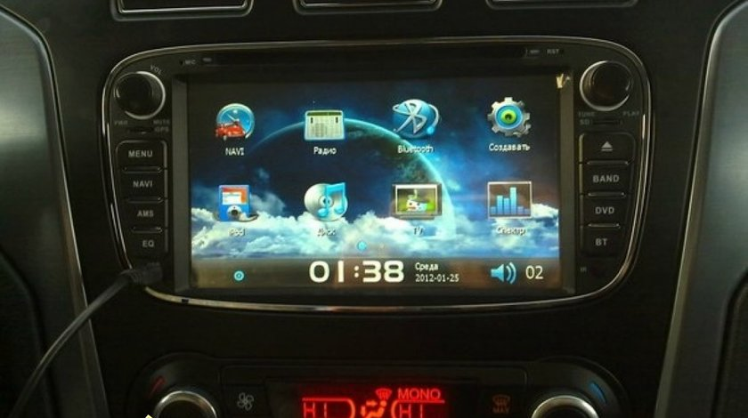 NAVIGATIE WITSON DEDICATA FORD FOCUS MONDEO GALAXY S-MAX MODEL 2012 CU RAMA NEAGRA
