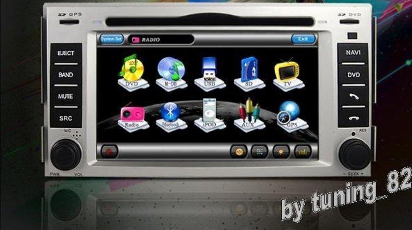 Navigatie WITSON DEDICATA HYUNDAI Santa Fe INTERNET 3G WIFI Dvd Gps Tv Car Kit Usb Picture In Picture MODEL 2012