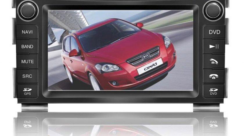 NAVIGATIE WITSON DEDICATA KIA CEED INTERNET 3G WI FI GPS TV CARKIT DVD COMENZI PE VOLAN DIVX MODEL 2012