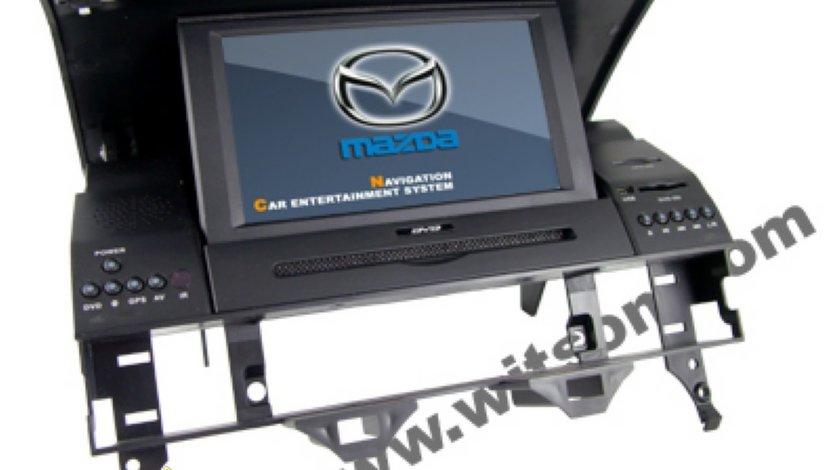 Navigatie WITSON DEDICATA MAZDA 6 2002 2008 Dvd Gps Bluetooth Ipod Usb Tv