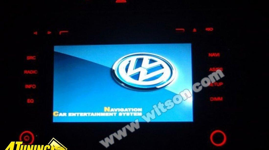 NAVIGATIE WITSON DEDICATA VW GOLF 6 DVD GPS CAR KIT DIVX SENZORI OPS