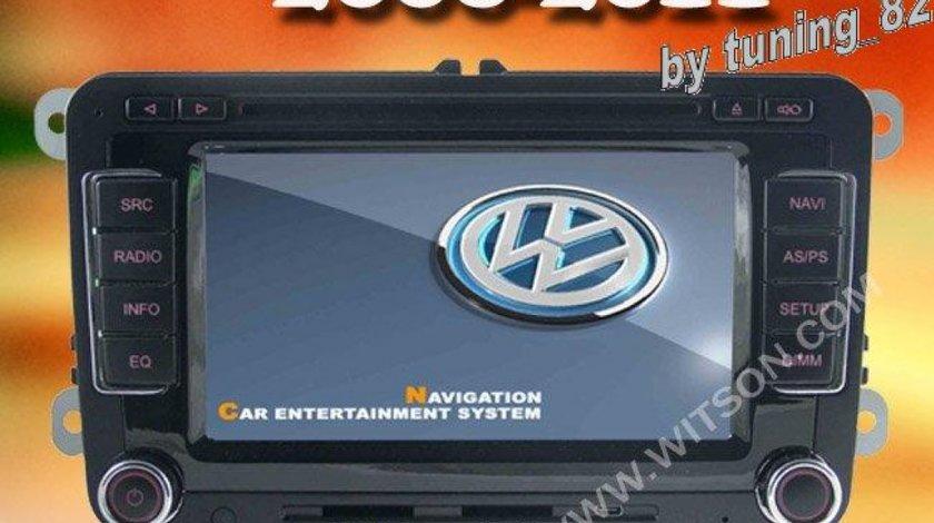 NAVIGATIE WITSON DEDICATA VW PASSAT B6 AFISAJ SENZORI OEM DVD GPS CAR KIT USB DIVX
