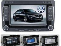 Navigatie Witson Dedicata VW PASSAT B6 SKODA OCTAVIA 2 SEAT LEON Internet 3g Dvd Gps Car Kit Usb Tv Afisaj Senzori Ops