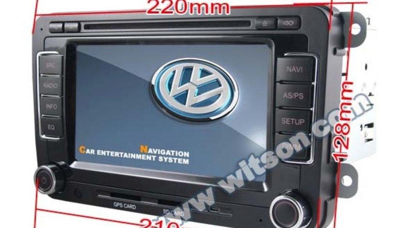 Navigatie Witson Dedicata Vw PASSAT CC Dvd Gps Car Kit Divx Senzori Ops