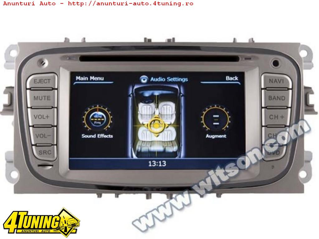 NAVIGATIE WITSON W2 C003 DEDICATA FORD MONDEO FOCUS 2 S MAX GALAXY TOURNEO PLATFORMA S100 INTERNET 3G WIFI DVD GPS TV DVR RADIO RDS CARKIT PRELUARE AGENDA TELEFONICA