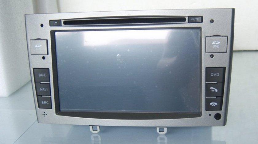 NAVIGATIE WITSON W2-C083 DEDICATA PEUGEOT 308 408 PLATFORMA S100 PROCESOR DUAL CORE A8 1GHZ 512 DDR 2 DVD GPS TV DVR CARKIT PRELUARE AGENDA TELEFONICA