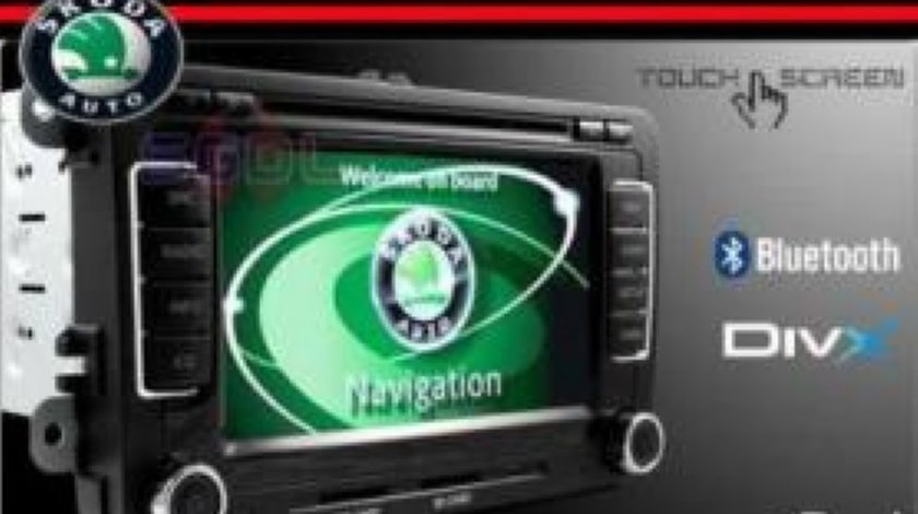Navigatie Witson W2 D781S Dedicata SKODA OCTAVIA 2 Internet 3g Gps Dvd Carkit Cu Preluare Agenda Afisaj Climatronic Model 2013