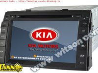 NAVIGATIE WITSON W2 D9517K DEDICATA KIA SORENTO 2010 - 2012 PLATFORMA S60 INTERNET 3G WIFI DVD GPS TV CARKIT COMENZI PE VOLAN