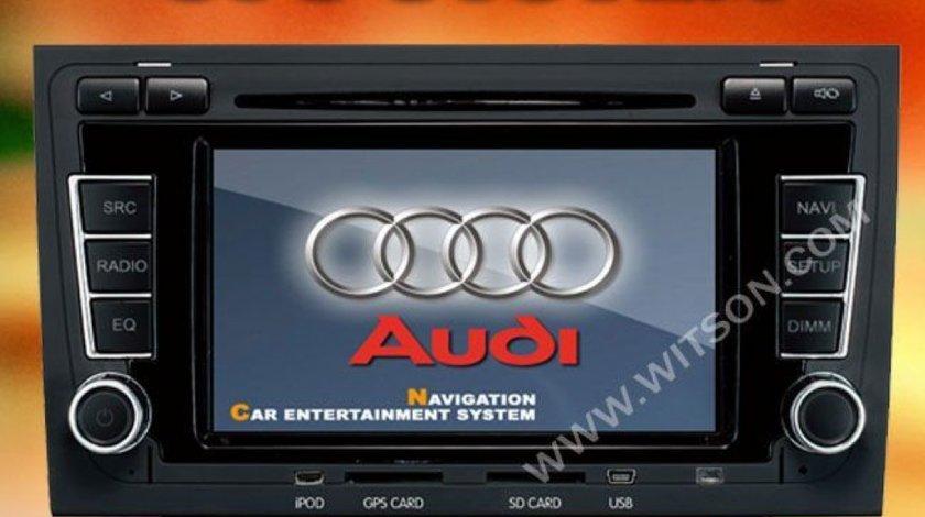 Navigatie WITSON W2 D9751A Dedicata Audi A4 Internet 3g Carkit CU Preluare Agenda Telefonica Model Premium 2013