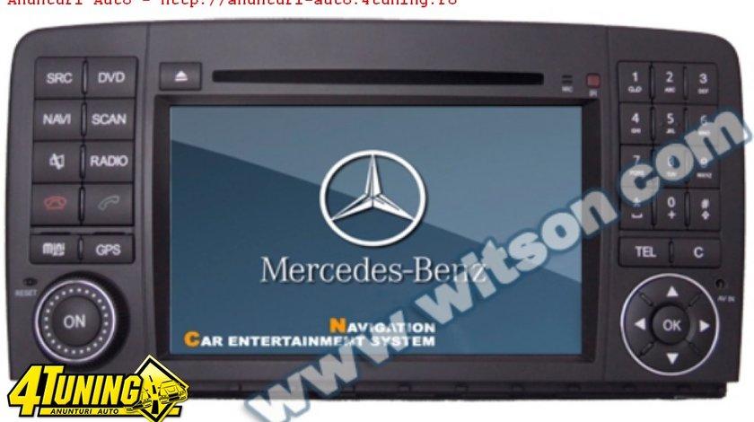 Navigatie Witson W2 D9807e Dedicata Mercedes Benz R 500 Gps Dvd Carkit Cu Preluare Agenda Model 2012
