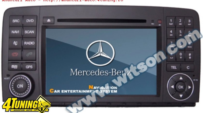 Navigatie Witson W2 D9807E Dedicata Mercedes BENZ R 350 Gps Dvd Carkit Cu Preluare Agenda Model 2012