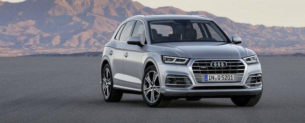 Ne-au tachinat degeaba. Noul Audi Q5 seamana cam mult cu modelul pe care il inlocuieste