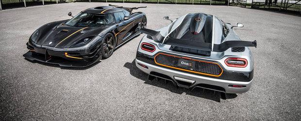 Negru sau Argintiu? Koenigsegg ne arata singurele One:1 existente