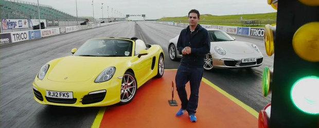 Neintelegeri in familia Porsche: Noul Boxster provoaca la duel recent-lansatul 991