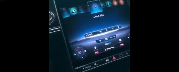 Nemtii ar da orice ca sa nu vezi acest VIDEO. Noul Mercedes S-Class, filmat pentru prima oara cu ecranele din bord aprinse!