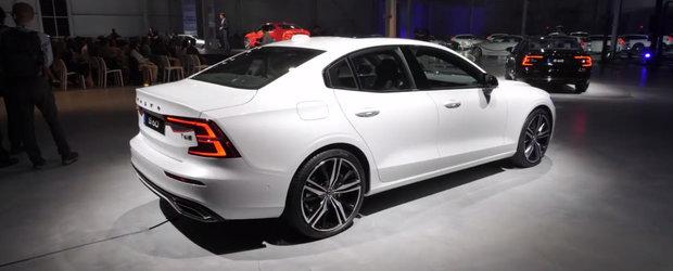 Nemtii au dat de belea. Noul Volvo S60 arata perfect in primele imagini reale