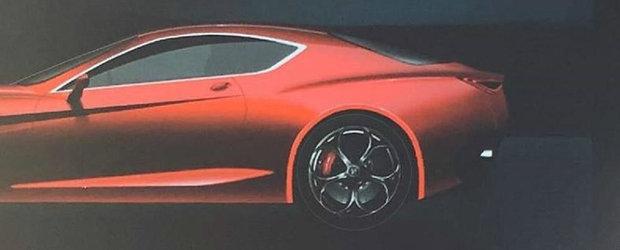 Nemtii au dat de belea: prima poza cu noua masina de 600 CP de la ALFA a scapat pe internet