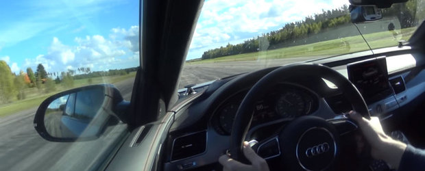 Nemtii au mintit. Uite de fapt in cat timp ajunge Audi-ul S8 Plus la 100 de km/h