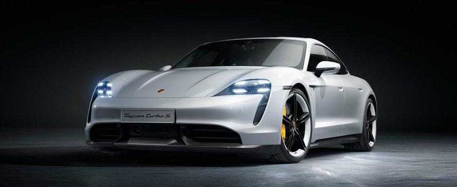Nemtii au publicat acum toate imaginile si detaliile oficiale. Acesta este noul Taycan, primul Porsche electric din istorie!
