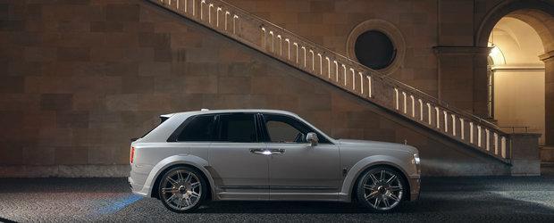 Nemtii au terminat de modificat cel mai luxos SUV din lume. Cum arata acum Rolls Royce Cullinan
