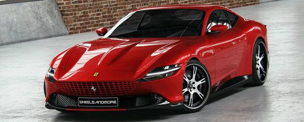 Nemtii au terminat de modificat cel mai nou Ferrari. Cati CP are acum bolidul italian