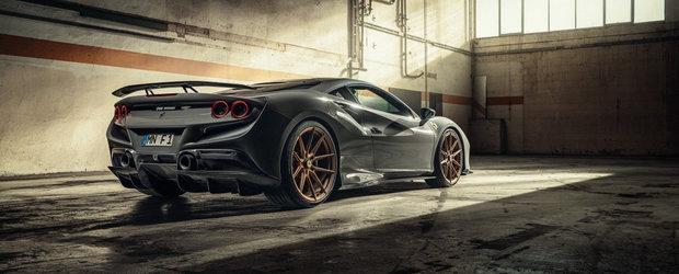 Nemtii au terminat de tunat cel mai puternic Ferrari cu motor V8 din toate timpurile. Galerie foto completa