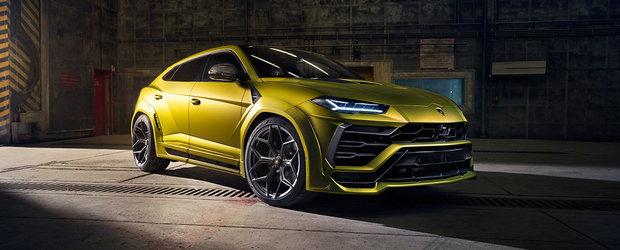 Nemtii au terminat de tunat noul Lamborghini Urus. SUV-ul italian are acum mai multa putere chiar si decat un Aventador SV