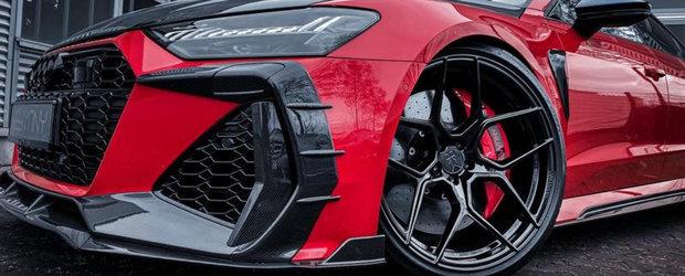 Nemtii au terminat de tunat noul RS7 Sportback: super-sedanul cu plafon de coupe si motor de 600 CP e acum de nerecunoscut